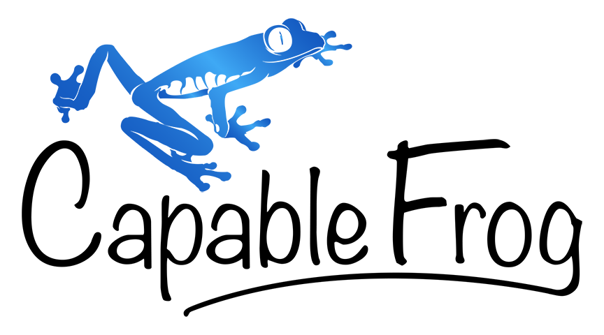 Capable Frog logo